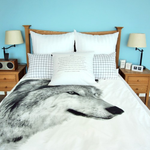 울프Wolf Bedding Cover Set3size