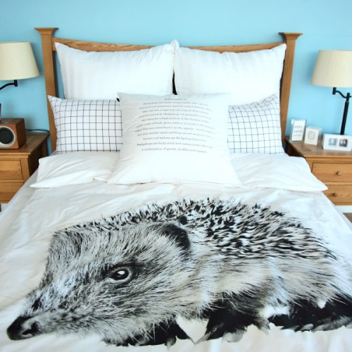 헤치호그Hedgehog Bedding Cover SetSingle